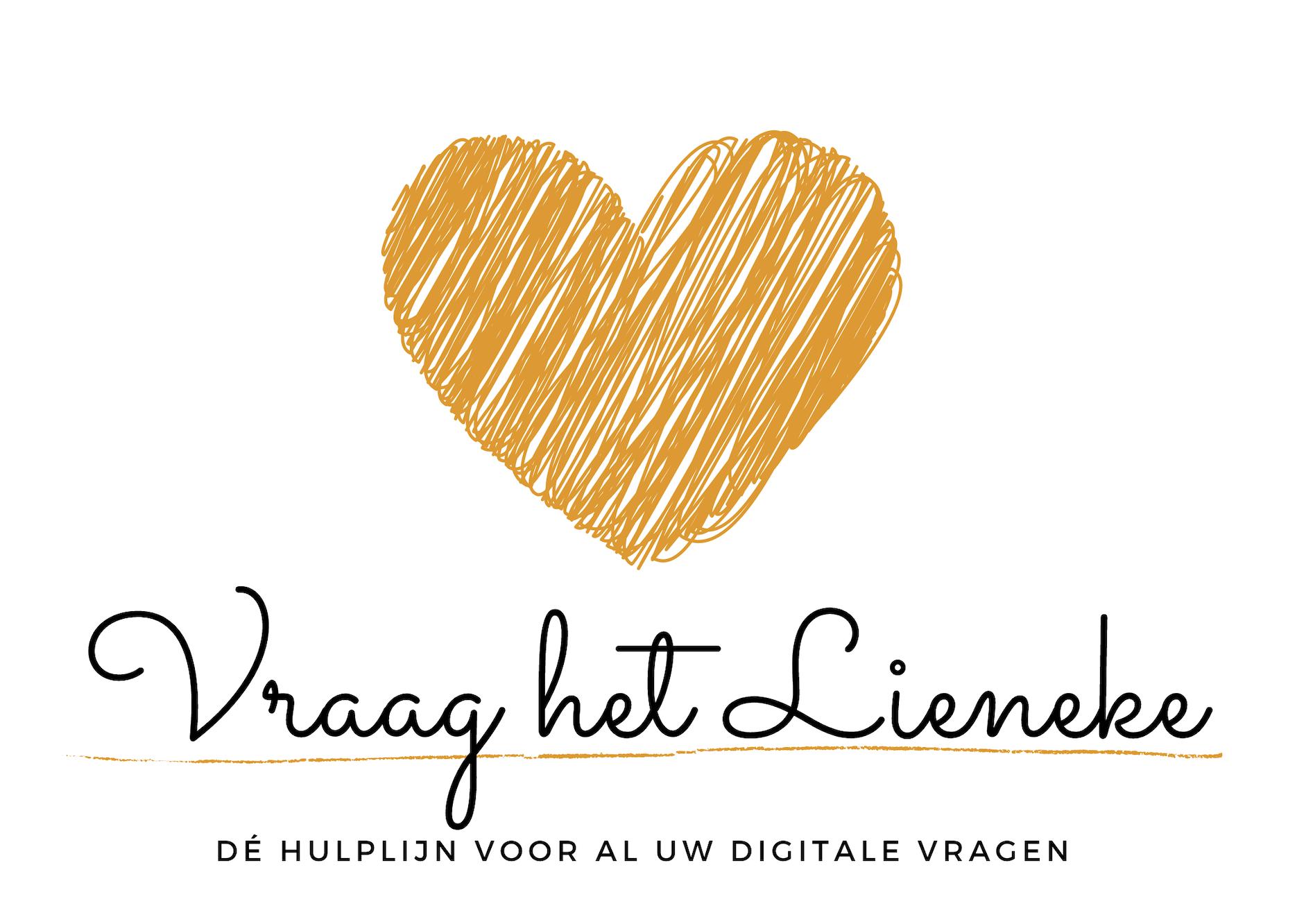 Logo Vraag het Lieneke smartphone